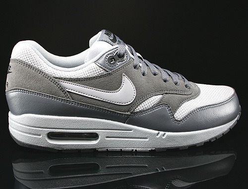 sports shoes 3b389 1d509 Nike Air Max 1 Essential Dunkelgrau Hellgrau Schwarz 537383-019