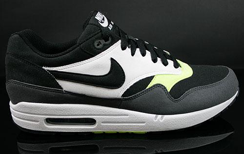 Nike Air Max 1 Anthrazit Grau Gelb Weiss 308866 010 Purchaze
