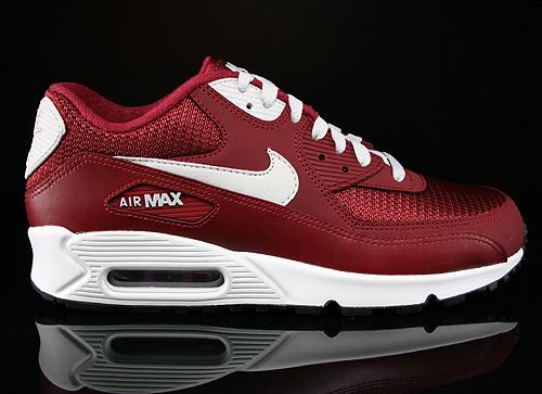 Nike Air Max Weinrot Weiß