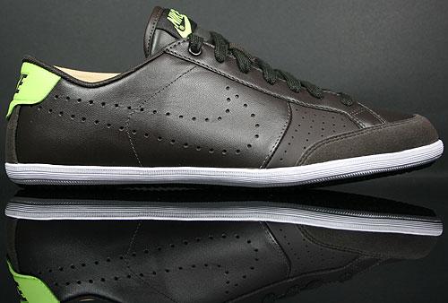 quality design b2b33 e6cb5 Nike Flyclave Leather Braun Neongruen Weiss