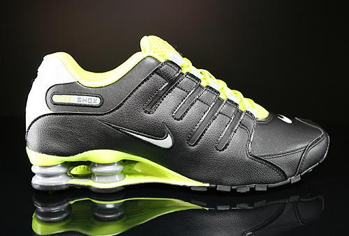 Nike Shox Schwarz Grün