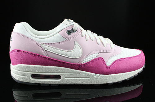 Nike WMNS Air Max 1 Essential Pink Rosa Weiss Anthrazit 599820-101