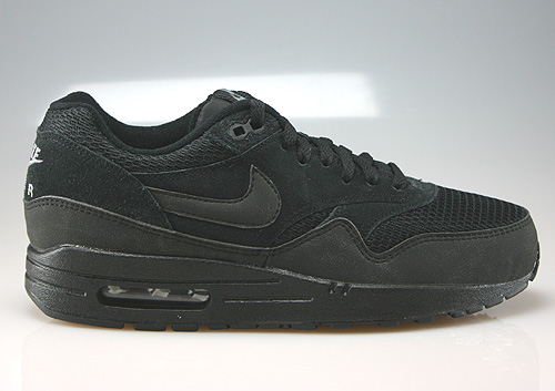 newest d94f5 e5290 Nike WMNS Air Max 1 Essential Schwarz Anthrazit Grau 599820-011