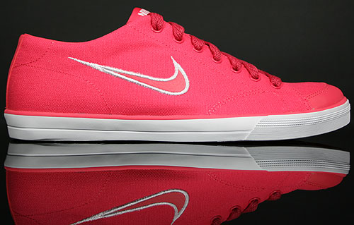 "official photos ba9cc c1db2 Nike WMNS Capri CNVS ""Aster Pink Orange-Weiss"""