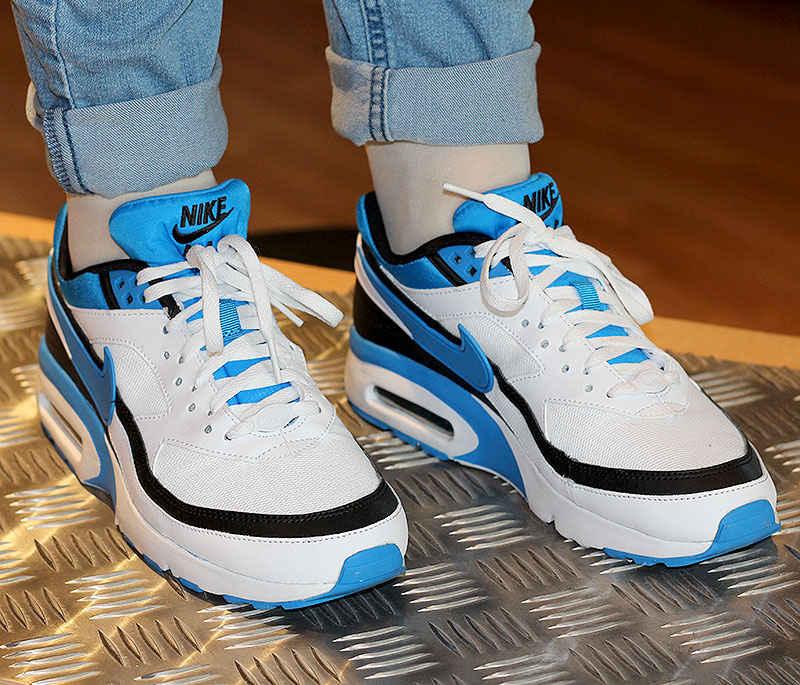 Nike Air Max BW GS Weiss Schwarz Blau - 820344-104