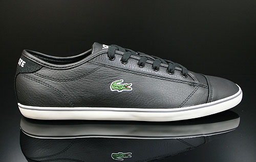 Lacoste Wyken CI SPM LTH Schwarz Weiss 7-24SPM1250WA1 Schuhe Lacoste Sneaker