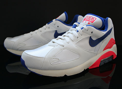 Nike Air 180 OG Weiss Blau Rot Schwarz Sneakers 559604-146