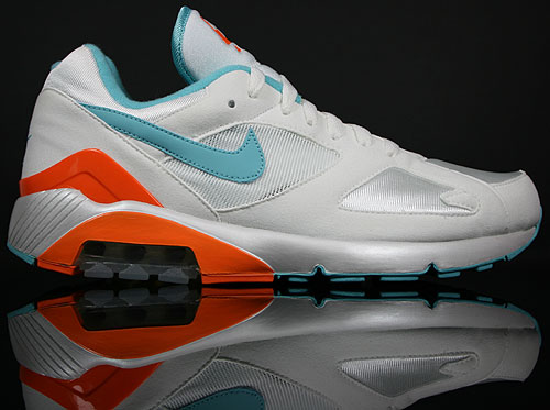 Nike Air 180 Weiss/Aqua-Orange 310155-100