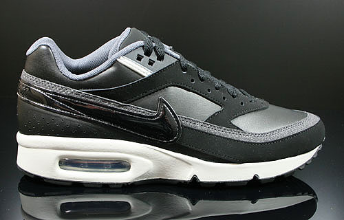 Nike Air Classic BW Schwarz Grau Anthrazit 309210-091 Nike Turnschuhe Sneaker