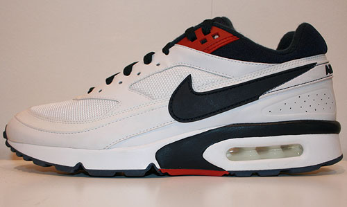 Nike Air Classic BW Textile SI Weiss/Dunkelblau-Rot 358797-109