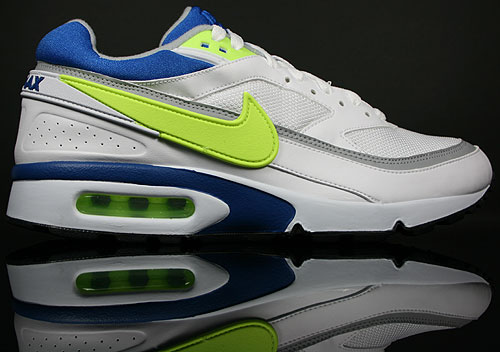 Nike Air Max Classic BW Trainer Weiß Lime Blue Store