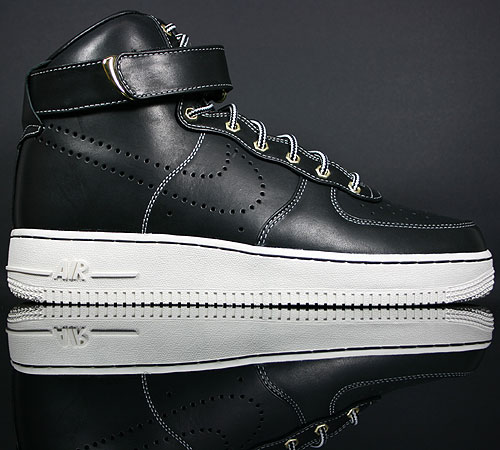 Nike Air Force 1 High Premium LE Schwarz/Weiss 386161-005