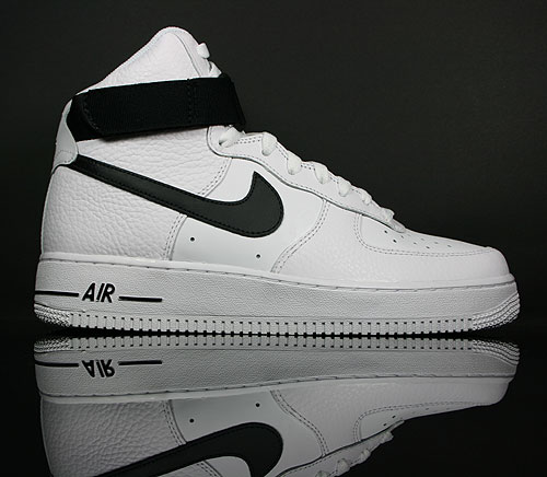 nike air force 1 high weiss schwarz weiss purchaze. Black Bedroom Furniture Sets. Home Design Ideas
