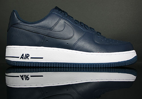 Nike Air Force 1 Low Dunkelblau Weiss 315122-406