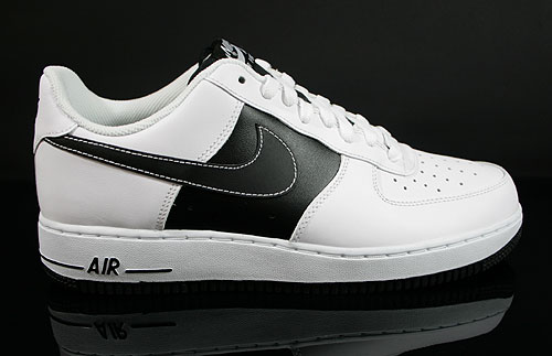 Nike Air Force 1 Low Weiss Schwarz Weiss 488298-112