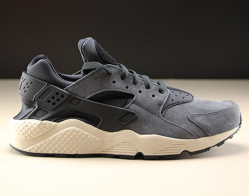 Nike Air Huarache Run Premium Anthrazit Schwarz Beige Purchaze