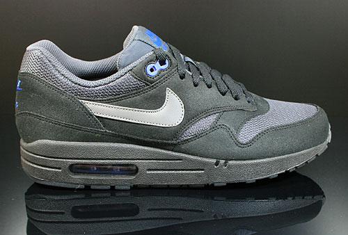 Nike Air Max 1 Black Dark Grey Anthracite 308866 040 Purchaze