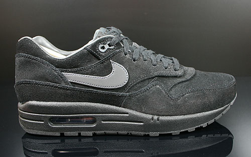 Nike Air Max 1 Premium Schwarz Anthrazit Sneakers 512033-011