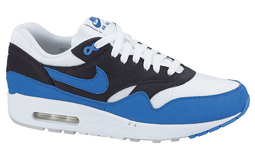 Nike Air Max 1 Weiss Blau Anthrazit 308866-109