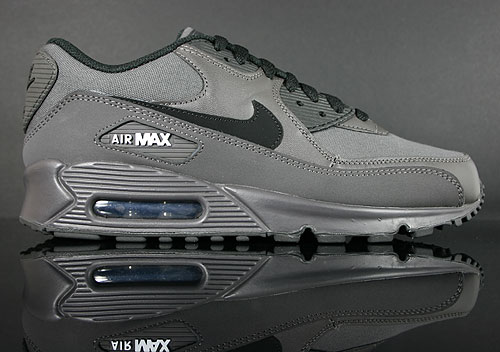 Nike Air Max 90 Anthrazit Schwarz Weiss 325018-032 Sneakers Nike Schuhe
