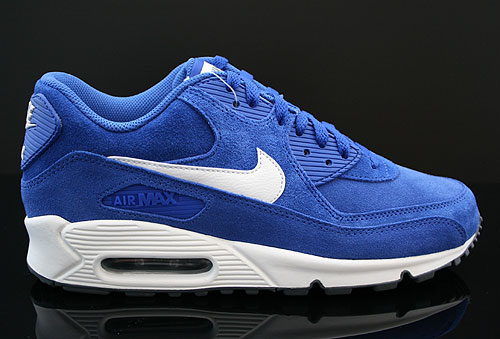 nike air max 90 essential blau beige dunkelgrau 537384 402. Black Bedroom Furniture Sets. Home Design Ideas