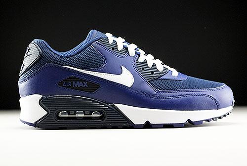 wholesale dealer 8b5f0 e079a Nike Air Max 90 Essential Blau Weiss Dunkelblau 537384-415
