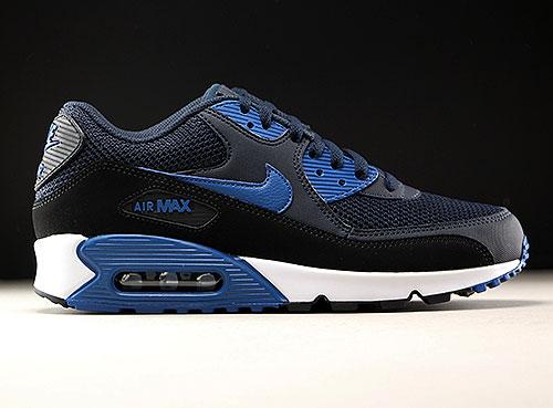 Nike Air Max 90 Essential Dunkelblau Blau Schwarz Purchaze