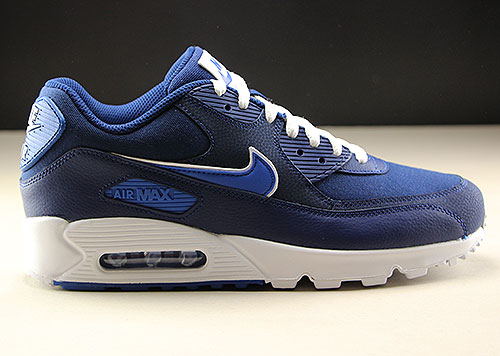 official photos 61fec c6c1f Nike Air Max 90 Essential Dunkelblau Blau Weiss AJ1285-401