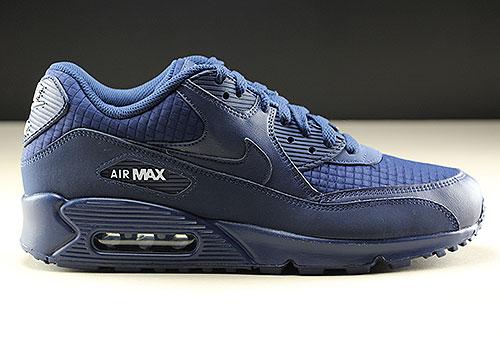 Nike Air Max 90 Essential Dunkelblau Weiss Purchaze