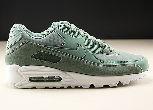Nike Air Max 90 Essential Gruen Weiss Purchaze