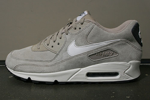 Nike Air Max 90 Essential Grau Weiss Beige Schwarz Sneakers 537384-099