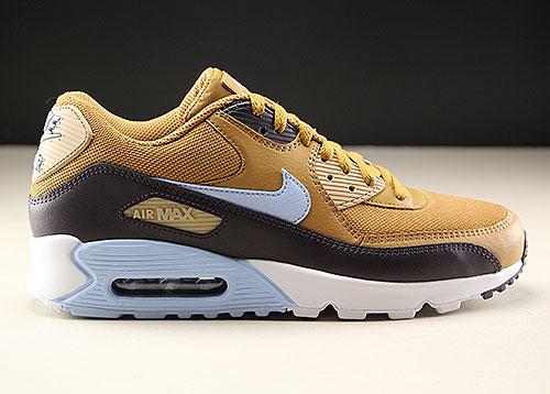 promo code 6c1a1 50849 Nike Air Max 90 Essential Ocker Braun Hellblau AJ1285-202
