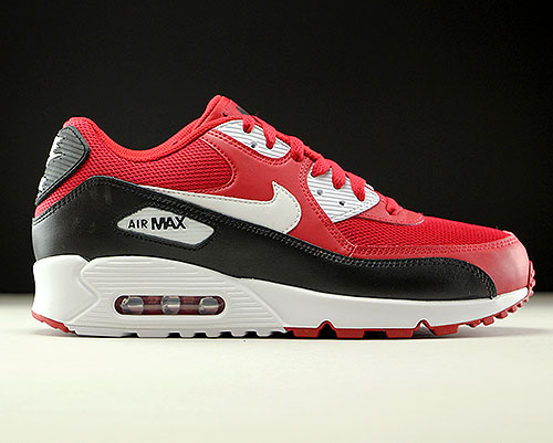 Nike Air Max 90 Essential Rot Weiß Schwarz Purchaze