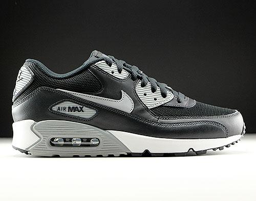 Nike Air Max 90 Essential black white schwarz grau