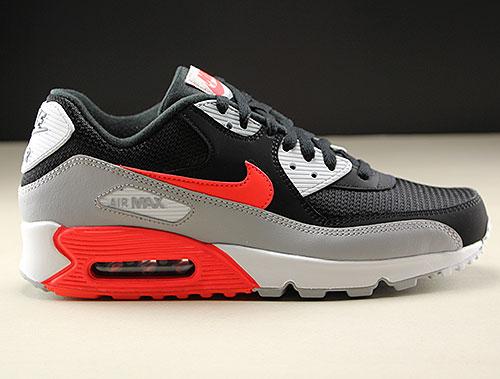 Nike Air Max 90 Essential Rot Weiß Schwarz