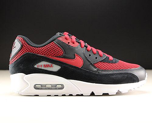 Nike Air Max 90 Essential Schwarz Rot Weiss Purchaze