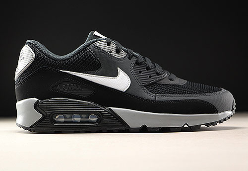 timeless design 72b43 3b619 Nike Air Max 90 Essential Schwarz Weiss Anthrazit 537384-063