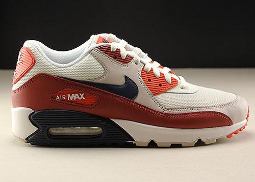 Nike Air Max 90 Essential Weiss Braun Creme Schwarz Purchaze