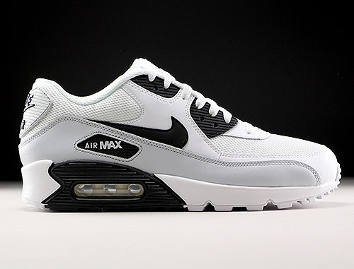 Nike Air Max 90 Essential Weiß Schwarz Grau Purchaze