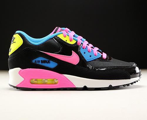 Nike Air Max Schwarz Pink Blau