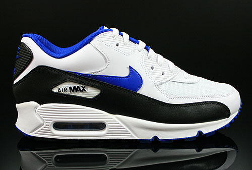 Nike Air Max 90 Wit Blauw