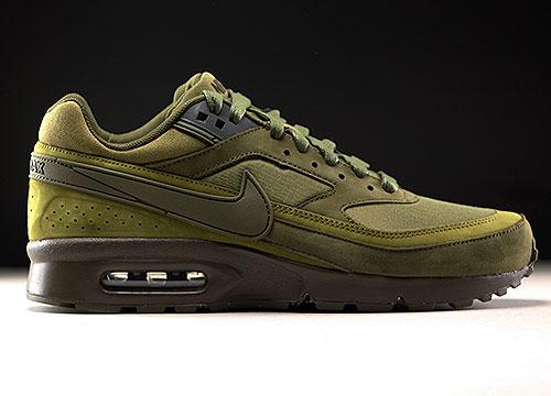 d5ad567e3f5 Nike Air Max BW Premium Dunkelgruen Oliv Schwarz 819523-300