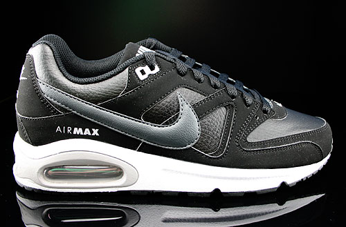 nike air max command leather black dark grey white wolf. Black Bedroom Furniture Sets. Home Design Ideas