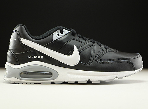 Nike Air Max Command Leather Schwarz Weiss Grau 749760-010