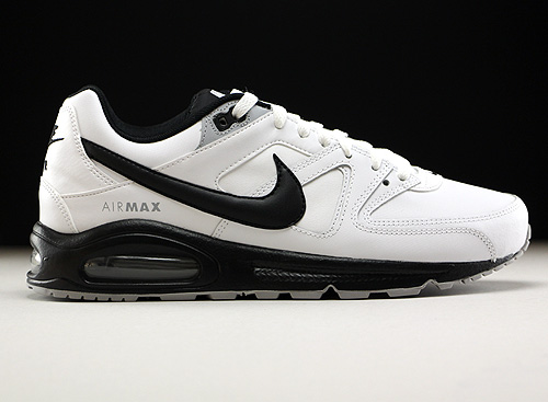 Nike Air Max Command Leather Weiss Schwarz Grau 749760-101