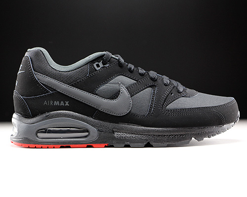 Nike Air Max Command Schwarz Anthrazit Rot 629993-026