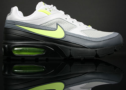 Nike Air Max Modular 95 Grau/Anthrazit-Neongelb-Schwarz-Weiss 407976-001