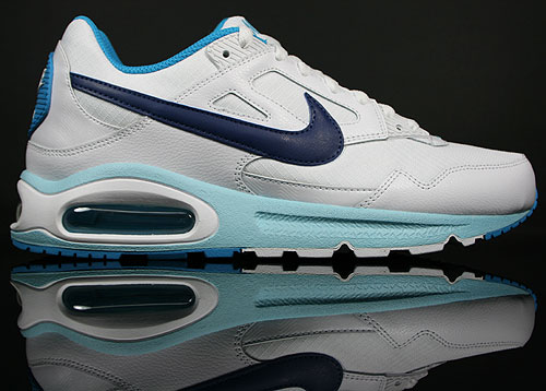 Nike Air Max Skyline Weiss/Royal-Blau-Hellblau 343886-107