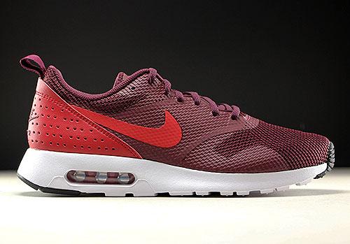 brand new 01ff9 60b4b Nike Air Max Tavas Dunkelrot Rot Weiss 705149-604
