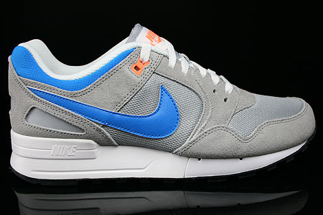 Nike Air Pegasus 89 Hellgrau Grau Blau Orange Sneakers 344082-048